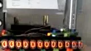 Nixie tube, 12 displays, working patters in Arduino