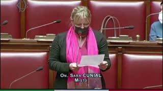 Sara Cunial Intervento nel Parlamento del 5G