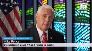 Mike Pence and David Brody talk masks amid Covid-19