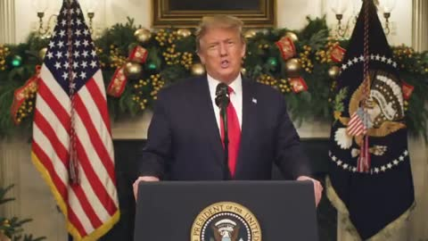 Public Presidential Video Address: Trump Refuses to Sign Wasteful COVID Relief Bill