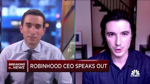 Robinhood CEO Vlad Tenev Admits crimes