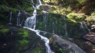 Beautiful Cascading Waterfall Natural Waterfall