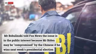 FBI investigation money laundering by Hunter Biden and Biden presidency
