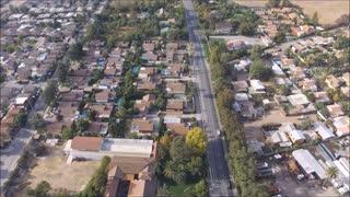 Mavic Air aerial view at Peñaflor city in Chile