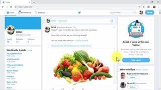 Creating Social Media Marketing Posts for Twitter