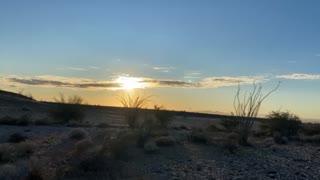 Sunset Ehrenberg Arizona 11/17