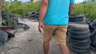 How to make sandals from old tires