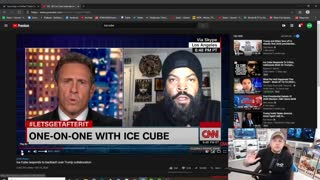 Ice Cube fires back at Chris Cuomo