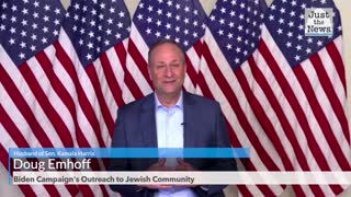 'Biden is a mensch' Kamala's husband says Jewish community should vote against Trump