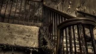 Abandoned Hospital Stairs HDR Timelapse