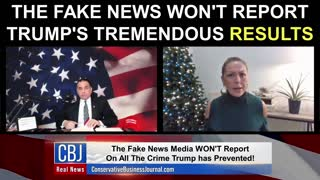The Fake News Won't Report on President Trump's Tremendous Results!