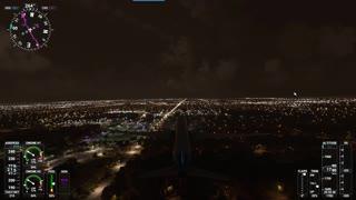787 Night Flight ICT