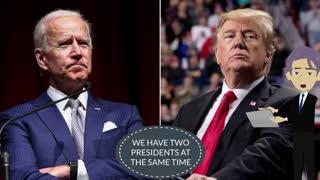 We have 2 Presidents? Mike Adams