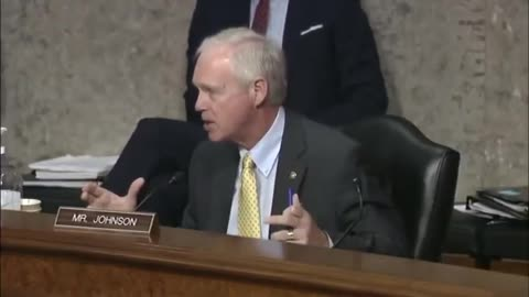 He's Doing Great Work: Ron Johnson Presses the Inconsistent Left on COVID Vaccine Transparency