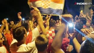 Slavlje i doživljaji navijača u Splitu nakon pobjede