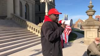 Day 6 Stop The Steal Michigan State Capitol