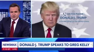 President Trump with Greg Kelly Part 1