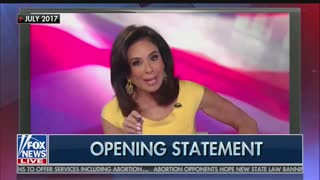 Judge Jeanine Pirro position on opposition research