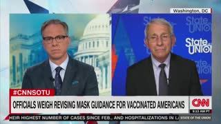 Fauci Says He's Considering Instituting Mask Mandates for Vaccinated Americans