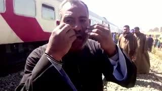 Dozens killed in Egyptian train crash