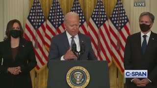 Biden to Reporter: 'I Can't Remember' Your Question