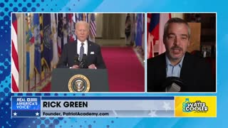 Rick Green on Real America's Voice 5/7/21