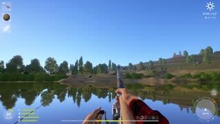 Russian Fishing 4 Sura River Wild Carp 2.521 Kg
