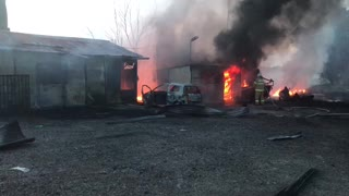 Gas station explosion#3
