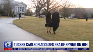 Tucker Carlson Accuses NSA of Spying on Him