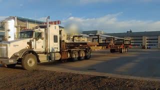 Truckin in the fall