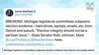 Michigan legislature committees subpoena election evidence from Detroit and nearby suburb