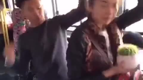 busty bus getting fucked badly