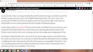 Texas Pro-Life Massive Victory - Bye Bye PP