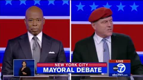 'How Dare You Bring My Family Into This!' Curtis Sliwa SLAMS Eric Adams at NYC Mayoral Debate