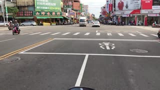 Scooter Ride in Taiwan