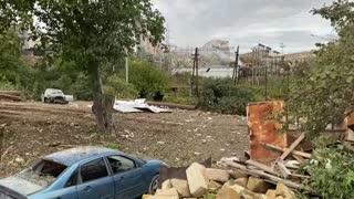 Continúan los bombardeos en el enclave separatista de Nagorno Karabaj