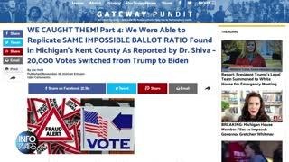 Election Fraud Bombshells Keep Dropping