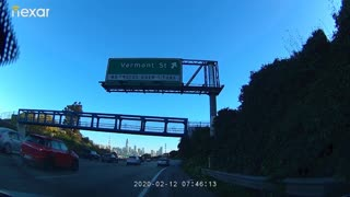 Dangerous Driving on San Francisco Freeway