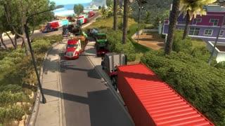 American truck simulator multiplayer game play