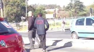 Road rage in JHB