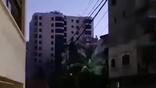 May 11, 2021 VIDEO Israeli bombs destroy a 12 story building in Gaza