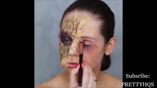 Creative Halloween Makeup tutorials