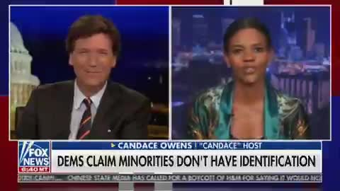Tucker and Candace Owens DESTROY the Left's False Voting Rights Narrative