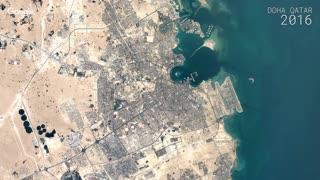 Timelapse Video Doha, Qatar