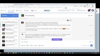 How to use the MeWe Interface (Posting Replies)