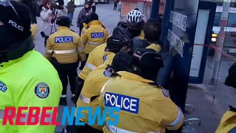 Toronto Police disgrace