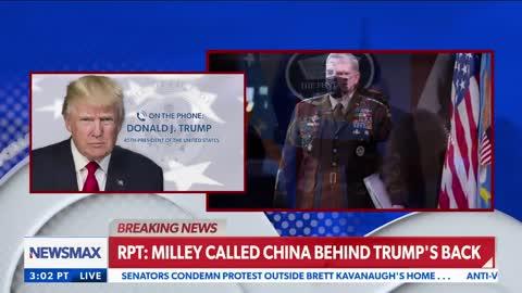 'Treason, if True': Donald Trump Responds to Bombshell Report Milley Betrayed Him