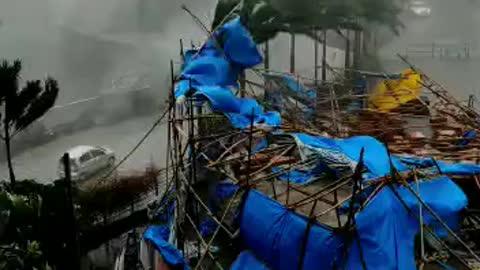 In mumbai of rain