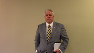 0172 Representative Brandt Smith talks about SB24 Stand Your Ground Bill with Conduit News