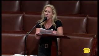 Marjorie Taylor Greene Slams BLM and Antifa